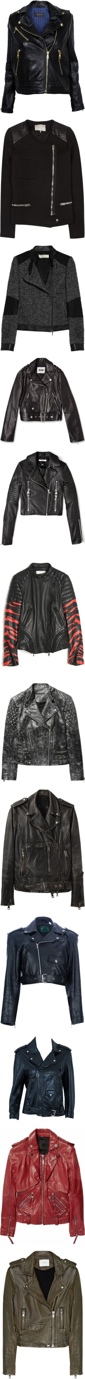 """""""The Bad Ass Jacket Collection"""" by patpatkay ❤ liked on Polyvore"""