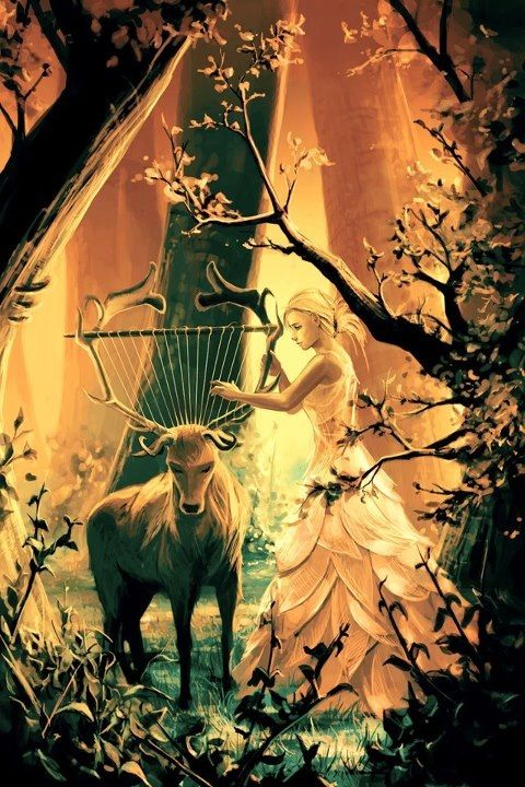 Forest harp, Candace McCarty