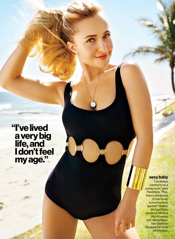 Anival Morales | Hayden Panettiere | Glamour Magazine