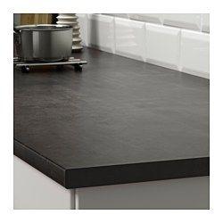 IKEA - EKBACKEN, Plan de travail, 246x2.8 cm, , Garantie 25 ans gratuite. Détails des conditions disponibles en magasin ou sur internet.Les plans de travail stratifiés sont très résistants et faciles à entretenir. Ils gardent leur aspect neuf pendant de nombreuses années.Le plan de travail le plus fin avec baguette de chant droite est idéal dans une cuisine de style moderne.Vous pouvez couper le plan de travail à la longueur souhaitée et masquer les côtés découpés à l'aide des…