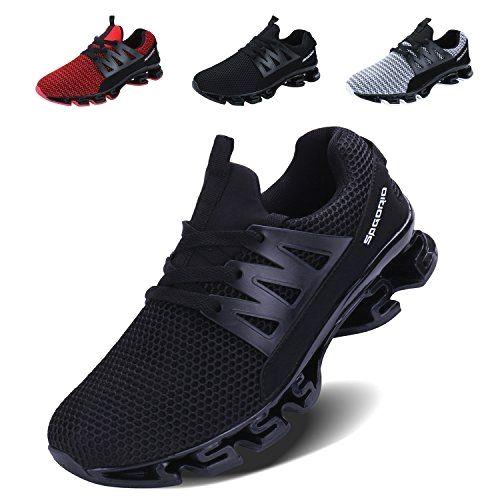 Men's black sneakers. Sneakers happen