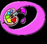 Oh my Alfabetos!: Alfabeto de Paleta de Colores.