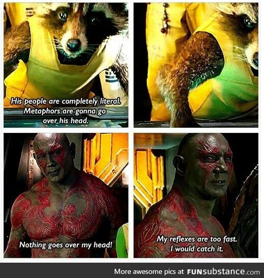 Drax The Destroyer Funsubstance Marvel Memes Marvel Funny Guardians Of The Galaxy