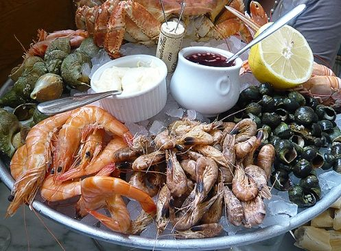 Bibendum s plateau de fruits de mer beautiful seafood and normandy - Decoration plateau fruit de mer ...