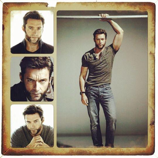 Wolverine aka Hugh Jackman FANGIRL ATTACK