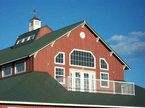 Pole buildings with living quarters comparably new for Building a barn to live in