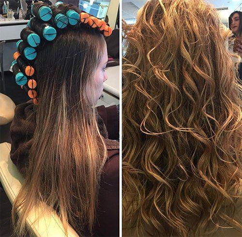 Big Body Perm Dauerwelle Leichte Dauerwelle Lange Haare Dauerwellen Lange Haare