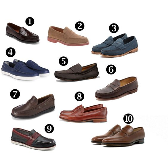 penny loafers, penny loafer roundup, guys' loafers, men's penny loafers1. Allen Edmonds, $199  2. J. Crew, $198  3. G.H. Bass & Co., $95  4. Cole Haan, $99  5. Coach, $268  6. Quoddy, $300  7. Rockport, $95  8. Aldo, $160  9. Sperry Top-Sider, $125  10. Jack Erwin, $195