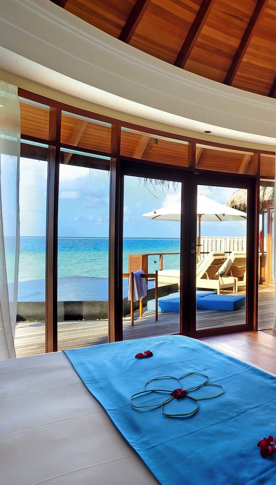 Enjoy the amazing views from your room: Maldives