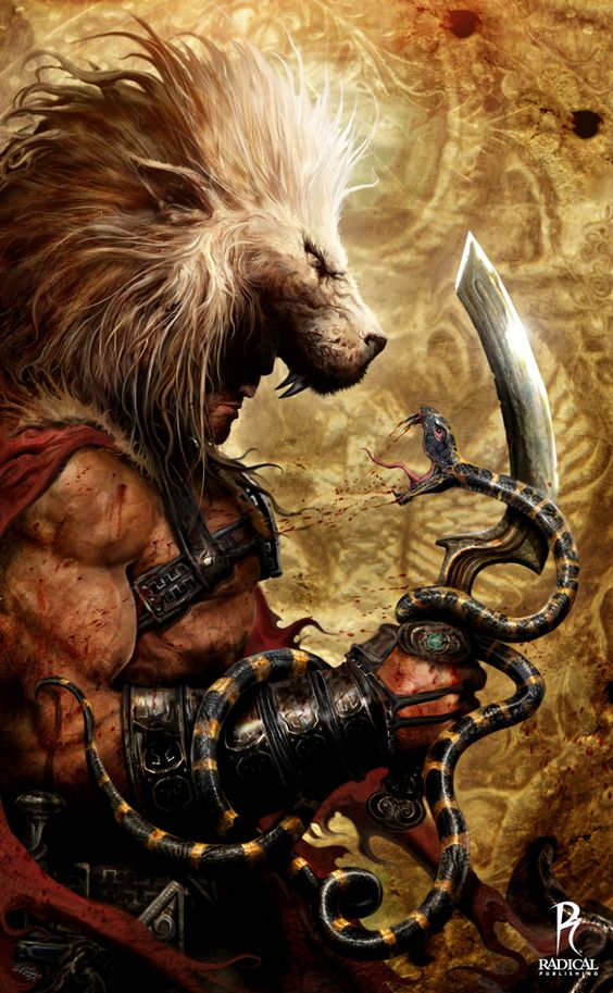Hercules, Son of zeus and Lion on Pinterest