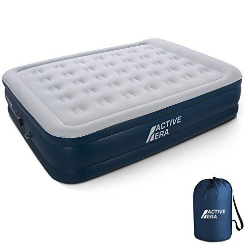 Premium Queen Size Air Mattress Inflatable Air Bed With E Https Smile Amazon Com Dp B072mh3qp5 Ref Cm Sw R Pi Dp Air Bed Air Mattress Camping Air Mattress