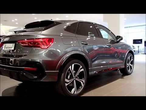 So Beautiful New 2020 Audi Q3 Sportback Daytona Grey With Black Optic Walkaround Youtube Audi Q3 Black Audi Audi