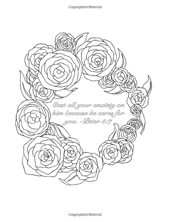 Coloring, Scriptures and Coloring books on Pinterest