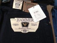 Damen- und Herren-Jeans, Made in Italy