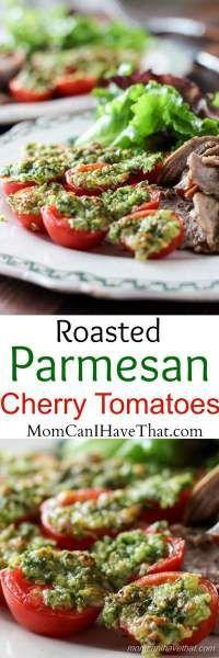 Parmesan Roasted Cherry Tomatoes Recipe Cherries