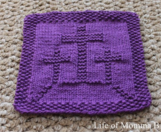 Easter Dishcloth   Updated Pinterest Patterns ...
