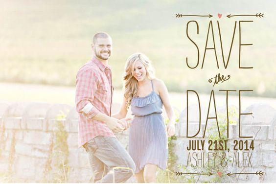 Custom Save the Date S10(Printable, Digital File)