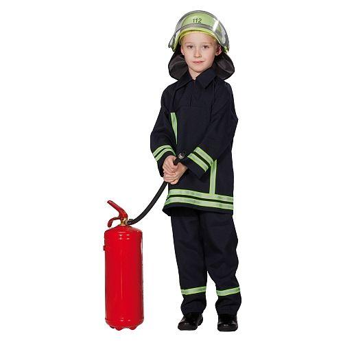 Kostüm, Feuerwehrmann, 2-tlg., Gr