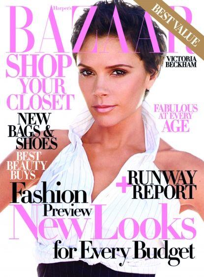 Victoria Beckham Bazaar Cover - Johnny Ramirez   Colorist ramireztran.com For appointments/inquiries call 310.724.8167