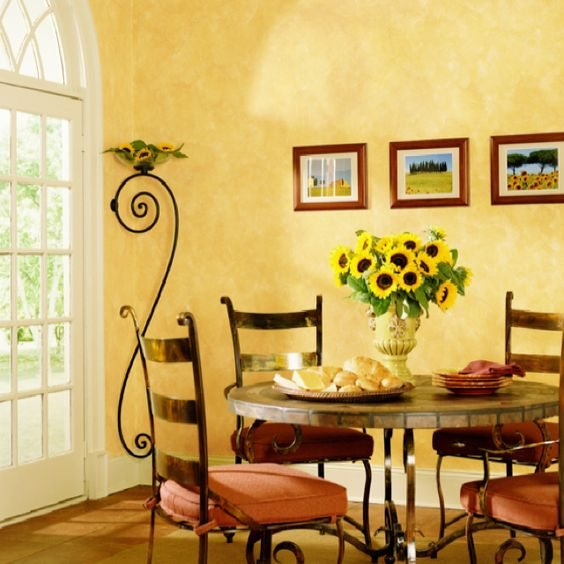 Tuscan Interior Paint Colors: Tuscany Kitchen