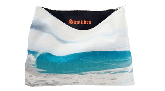 Samudra Canvas Pouch. An ocean of style.