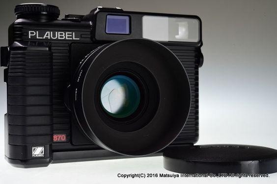 Makina PLAUBEL 670 Medium Format Rangefinder Camera with accessories #Makina