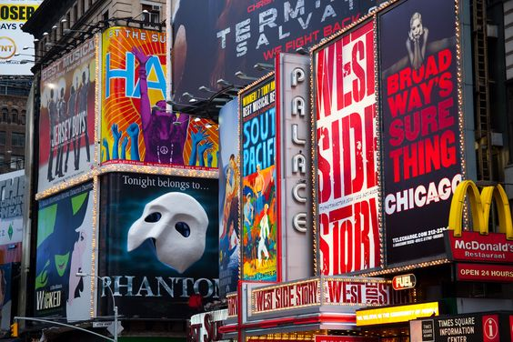 See a Broadway play/musical