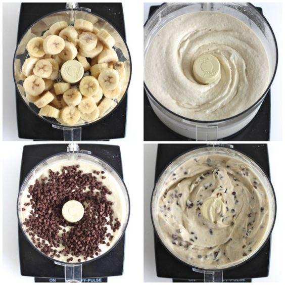 La « Nice cream » est vraiment à la mode ces temps-ci, et avec raison! Le résultat ressemble énormément à de la crème glacée molle, c'est vraiment à s'y méprendre!!! Rien de plus facile à faire et peut être fait à partir d'un seul ingrédient: des bananes très mures congelées!