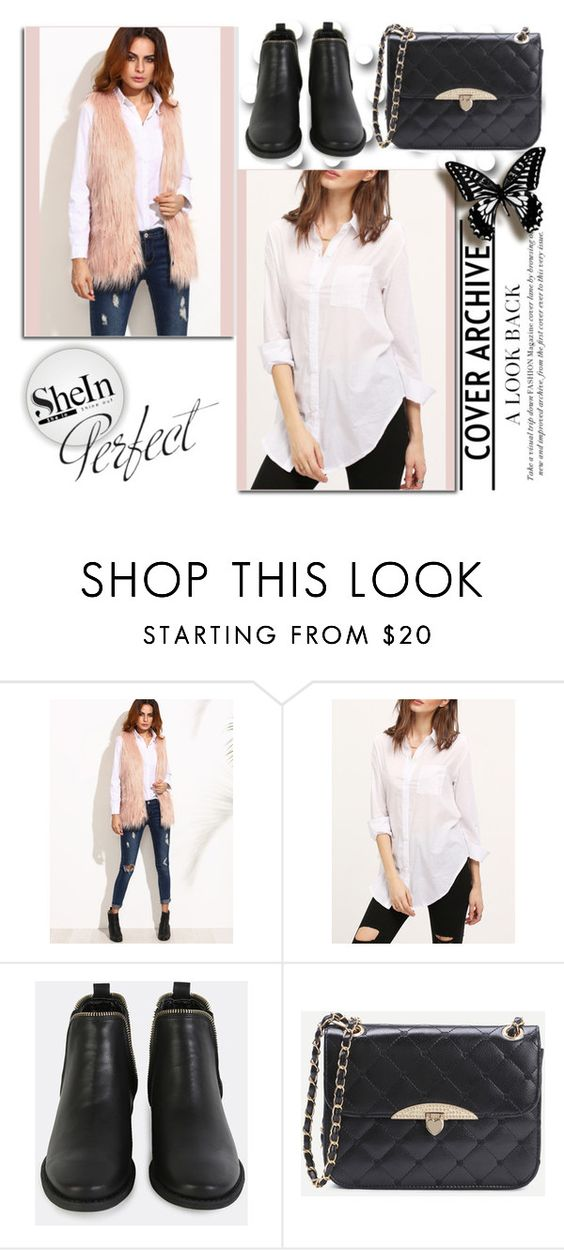 """""""SheIn 7/10"""" by melissa995 ❤ liked on Polyvore"""