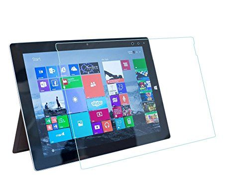 awesome Tranesca Tempered glass screen protector for Microsoft Surface 3 (Not for Surface Pro 3)