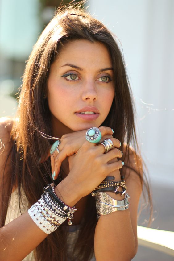 Annabelle Fleur's bracelets. Her fashion blog is really beautiful.