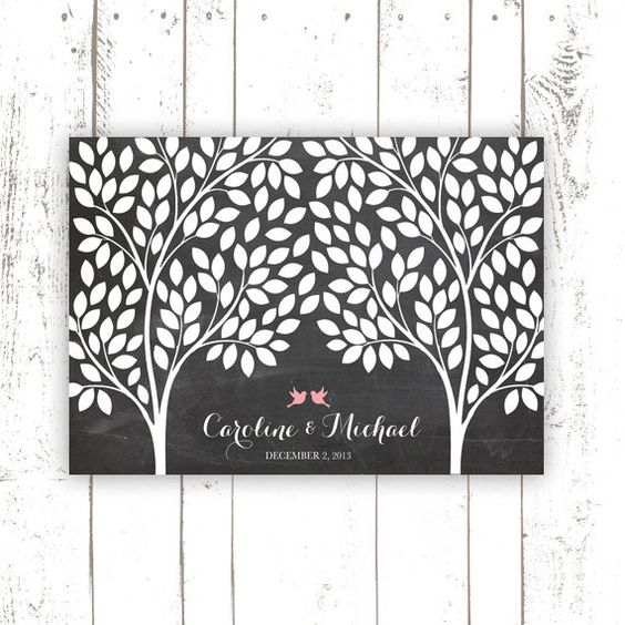 Hey, I found this really awesome Etsy listing at https://www.etsy.com/listing/163420661/guest-book-tree-wedding-guest-book
