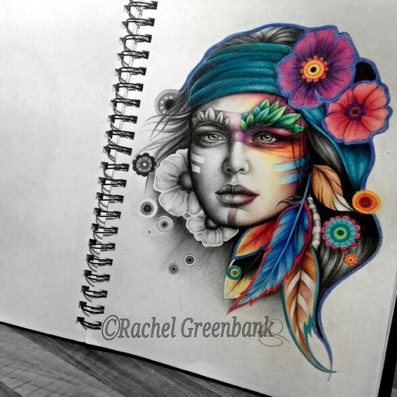 A tattoo design i did while i was,training to be a tattooist. Im a full time painter again now!