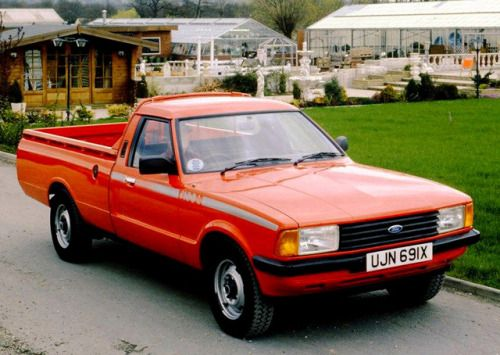 Ford P100 1982 The Cortina Based Pickup Was Built In South Ford