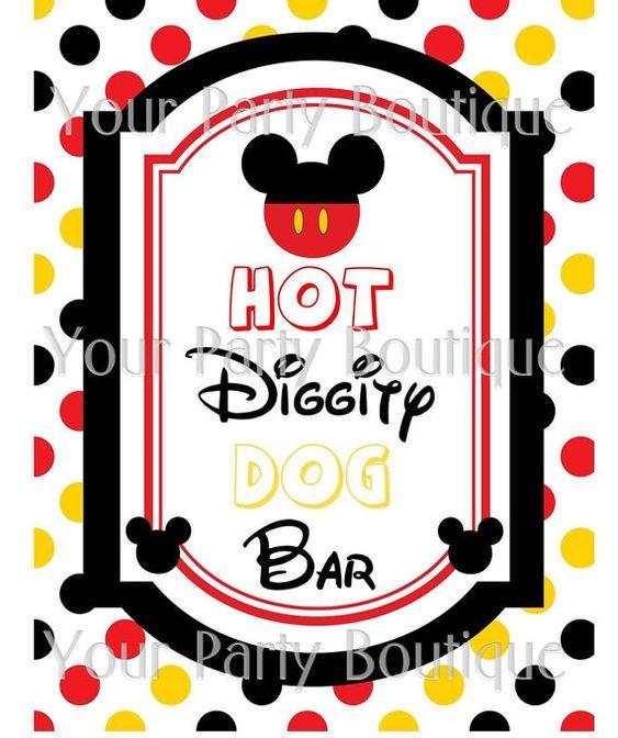 Hot Diggity Dog Mickey Lyrics