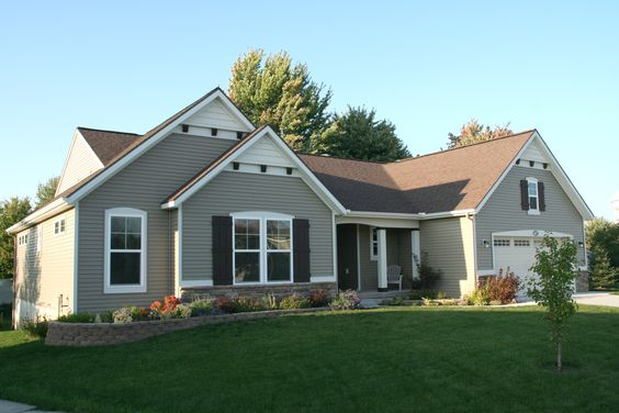 New Ranch Floor Plan Built By Eastbrook Homes In Forest