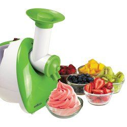 Salton 3-in-1 Frozen Dessert Maker/Grater/Slicer (DS1457)