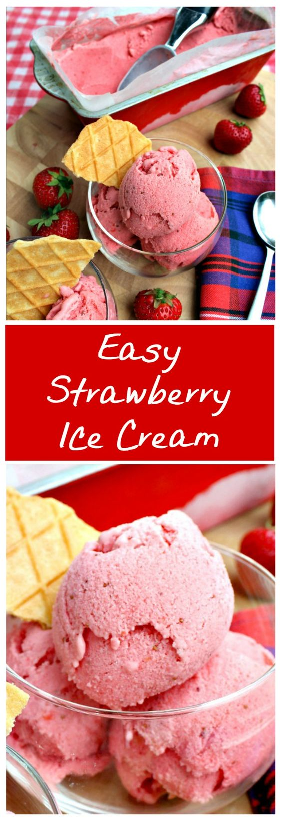 ideas and more easy recipes strawberries ice cream strawberry ice ...