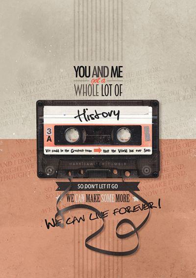 History-One Direction Lyrics