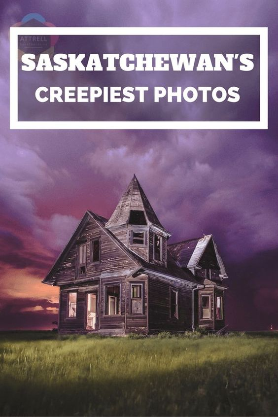 A gallery of Saskatchewan's creepiest photographs with an interview from the creative mind behind it all - local photographer Chris Attrell.