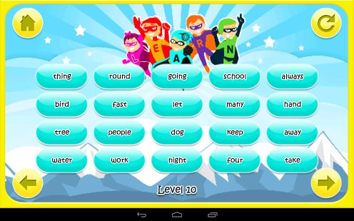 Superhero Sight Words - screenshot thumbnail