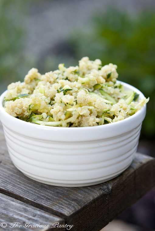 Clean Eating Green Quinoa