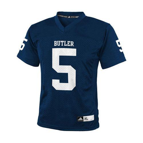 Boys 8 20 Adidas Butler Bulldogs Replica Ncaa Football Jersey