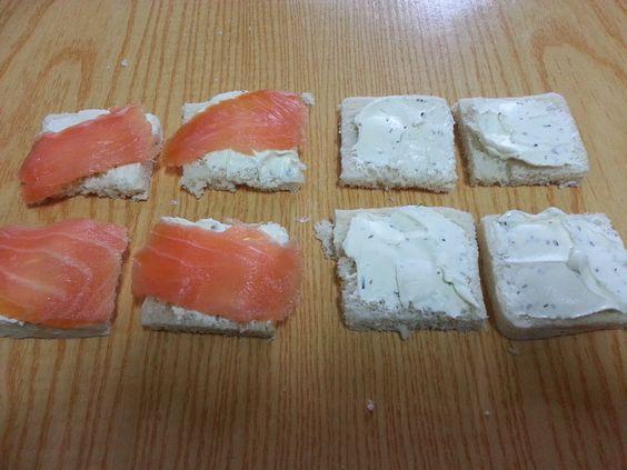 COCINA FÁCIL: Canapés con salmón. Cuatro combinaciones