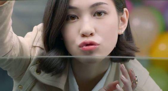 キス顔の水原希子のかわいくてかっこいい画像