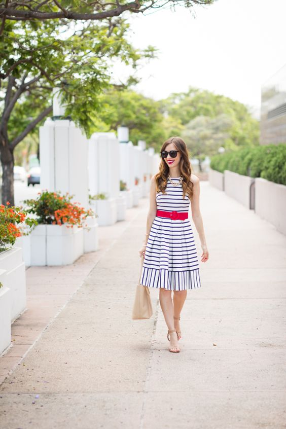Patriotic Fourth of July outfit on M Loves M @marmar:
