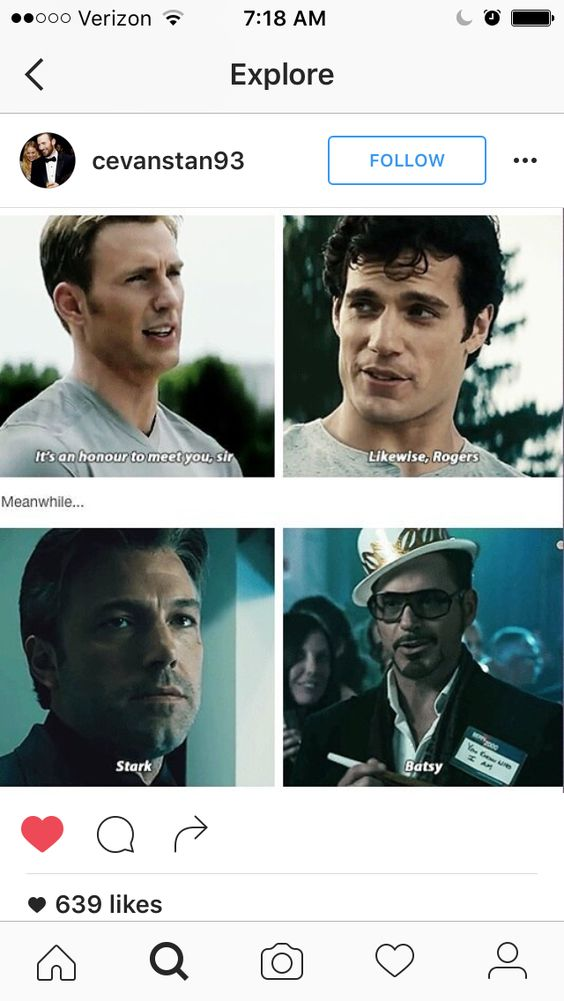 Yeeees! I love that Steve & Clark would be friends!!!