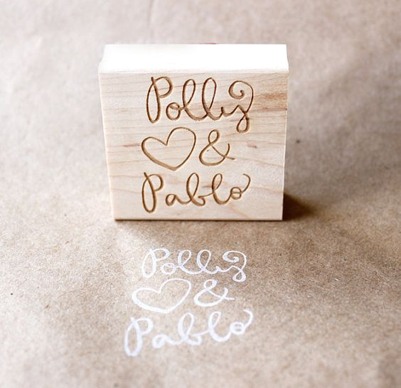 personalized rubber stamps by eatpraycreate (: