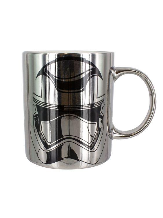 Star Wars Kaffeetasse Captain Phasma, stilecht im Chrom-Look! Die Tasse im Design zu Episode VII: Das Erwachen der Macht bringt nicht nur Fans zum Strahlen!
