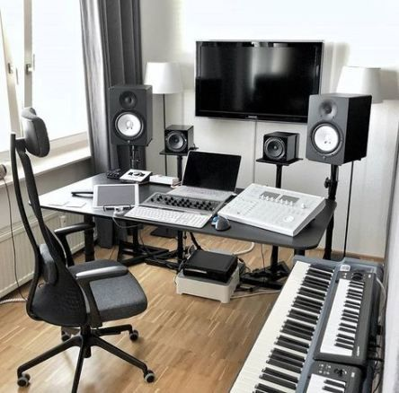 64 Ideas For Bedroom Classic Modern Music Studios Music Studio Room Music Studio Decor Home Music Rooms